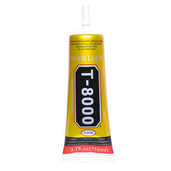 8Pcs 110ML T8000 Glue Epoxy Resin Adhesive Super Strong Transparent Wood Fabric Textile Plastic Touch Screen Bts LCD b7000 b6000 - DISCOUNT ITEM  0% OFF All Category