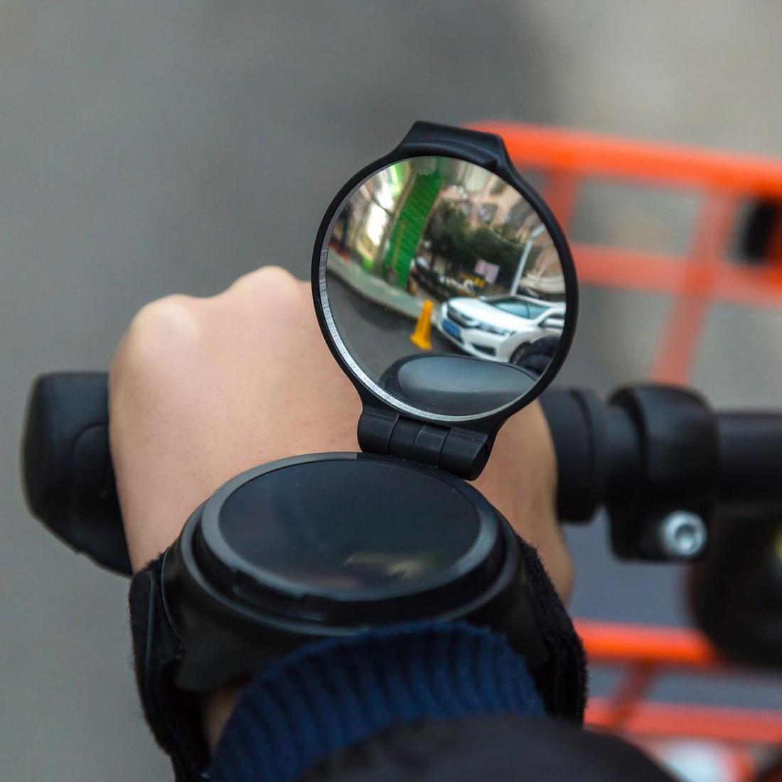 Bike Mirrors Hand Bicycle bike accessories 360 Degree Rotatable Back Mirror Arm Wrist Strap Rearview Mirror accesorios bicicleta