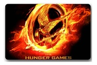 Free Ship 2015 New Design Custom Hunger Games Logo Doormats Stylish Movie Coussin Bedroom Carpets Durable