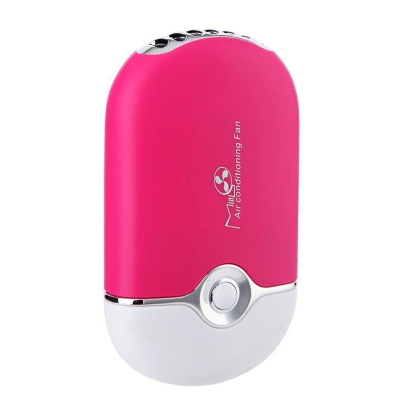 frete gratis mini ventilador usb ventilador de ar condicionado cola preto rosa enxertado cilios dedicado secador