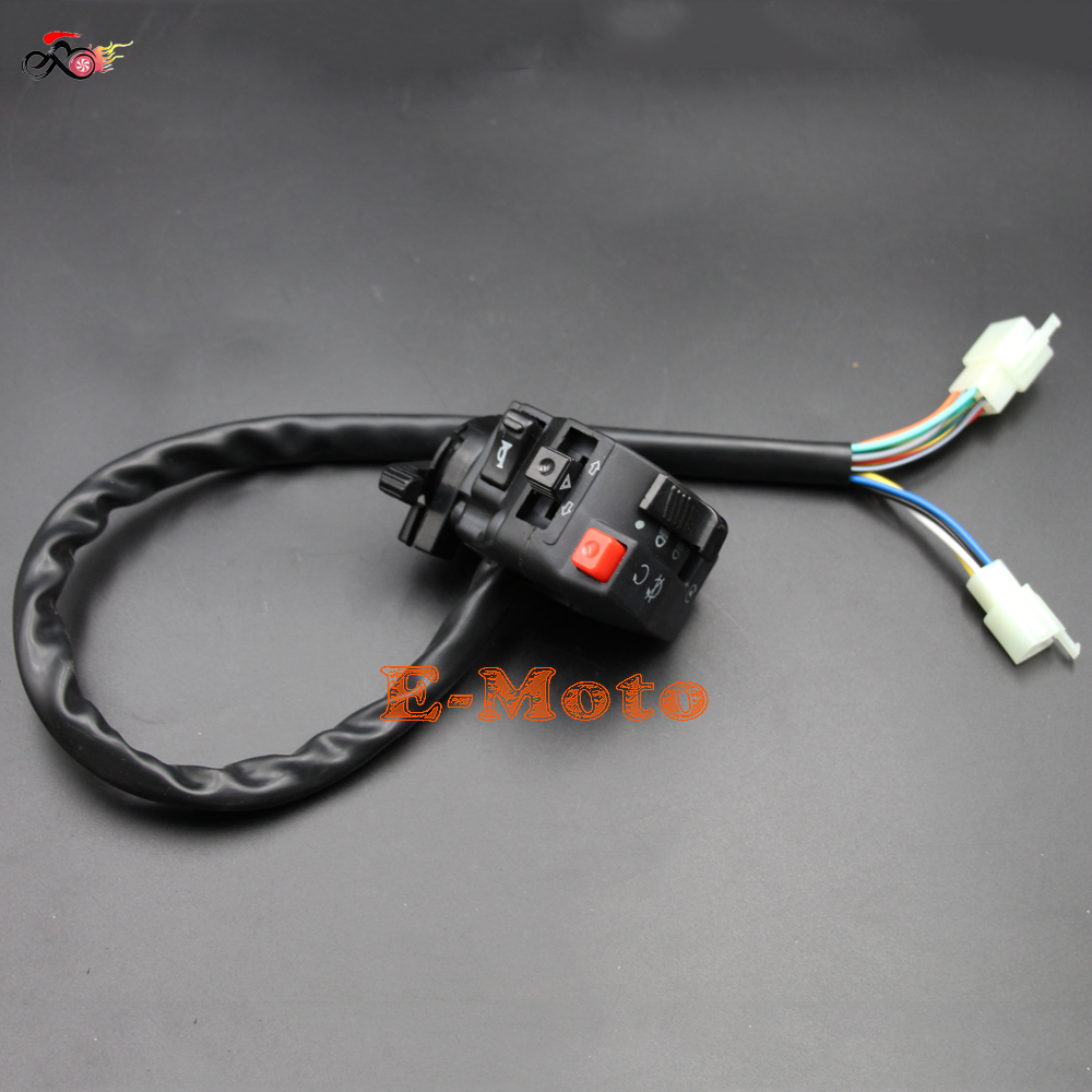 Sunl Atv Wiring Harness 4 Wire Electrical Circuit Kill Light Starter Choke Switch 150cc 200cc 250cc 300cc Quad Rhaliexpress
