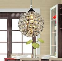 Luxury Free Shipping High Quality Mini Bar Crystal Pendant Lamp With 1 Lights E27