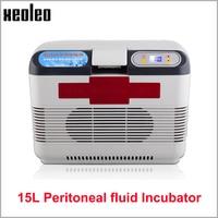 XEOLEO Peritoneal Fluid Incubator 15L Car Refrigerator Heat Cold Function Dialysis Solution Thermostat Portable Refrigerator