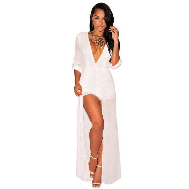 6385a3b66ed5 UpGirl Women Dress Cheap-clothes-china Dresses V Neck Chiffon Maxi Romper  UG30139
