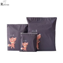 RUPUTIN 3Pcs/set Travel Organizer Suitcase Clothes Finishing Kit Beauty Case Make Up Bag Sundries Shoes Cosmetic Storage