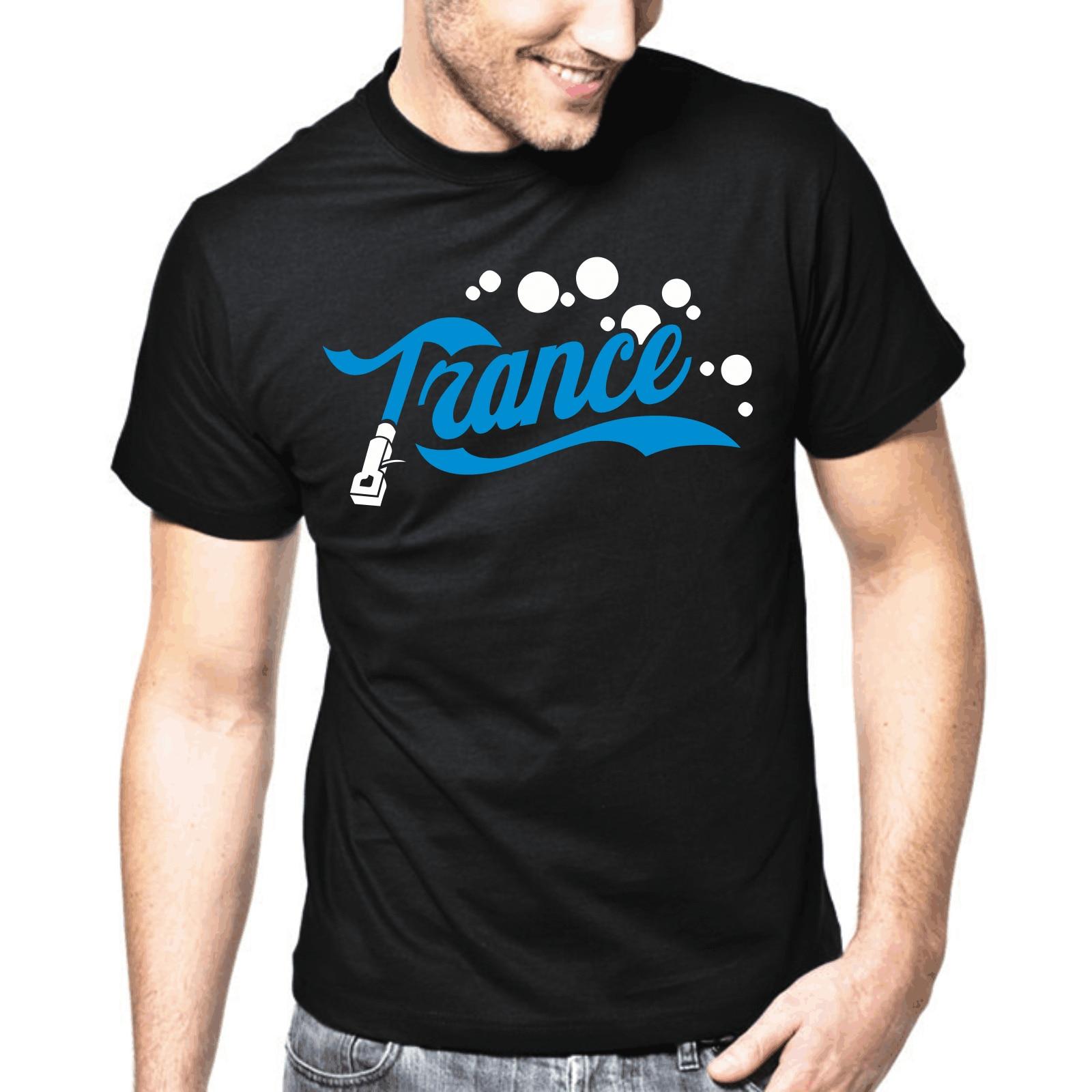 TRANCE  Techno  Electronic Music  Rave  DJ  Vinyl  Club  S-XXL T-Shirt