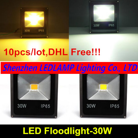 10pcs/lot led flood light Floodlights projectors 30w tree reflector projector outdoor lamp DHL Free ship цена