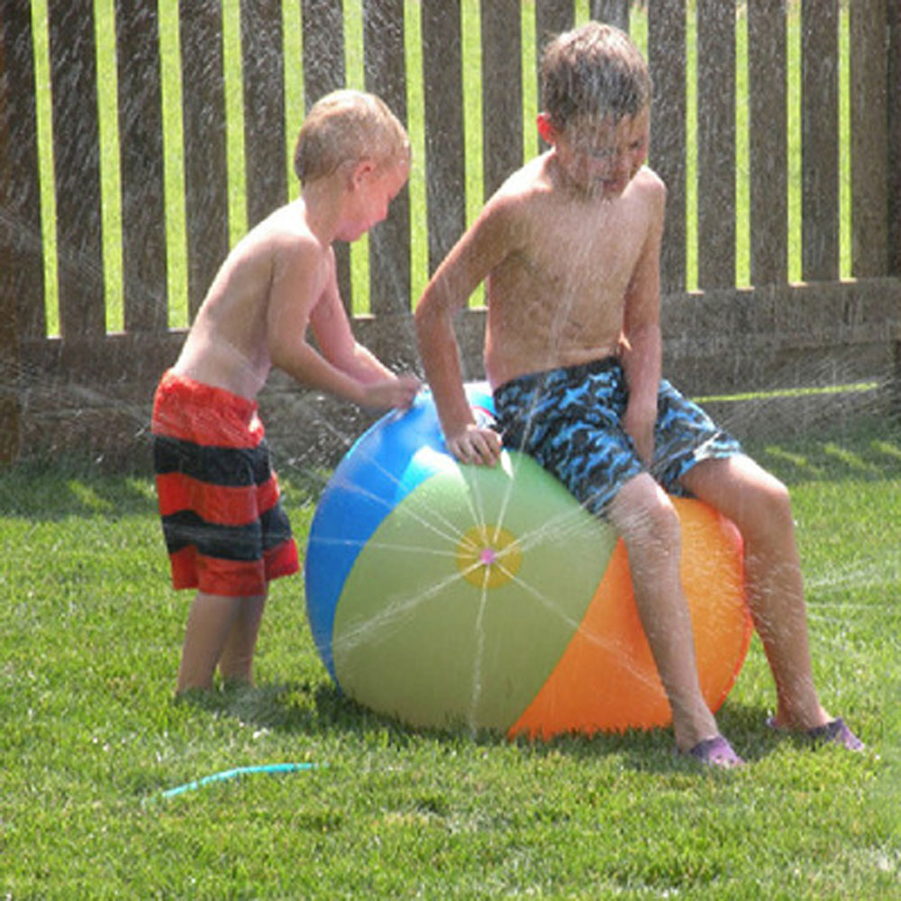 Swimming pool baby wading kiddie squirt fun pool outdoor squirt&splash water spray mat for Lawn Beach Play Game Sprinkler Ball