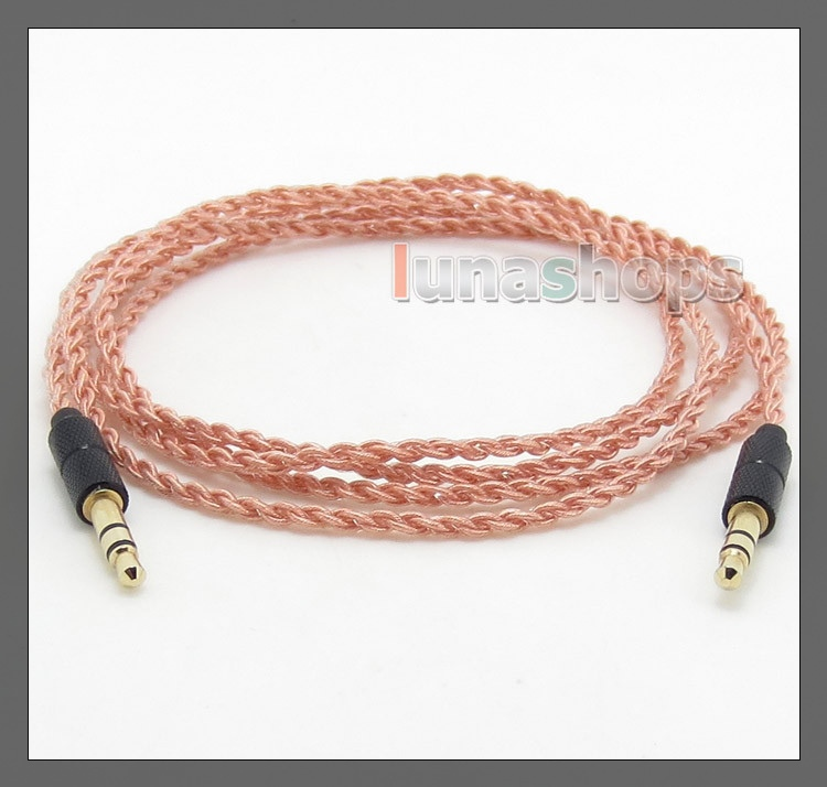Pure 5N PCOCC Headphone Cable For B&O BeoPlay H6 NAD VISO HP50 Focal Spirit One PSB M4U 1 PSB M4U 2 LN004756