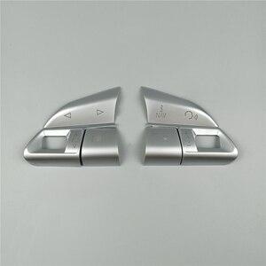 Image 2 - Car Styling Stuurwiel Knoppen Decoratie Cover Sticker Pailletten Voor Audi A3 8V A4 B8 B9 Q3 Q5 A1 a5 A6 A7 Interieur Decals