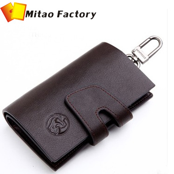 b6a0363675e6 US $32.78 |Holiday Selling Luxury Case Wallet in Car Keys Bag/ Coin Pocket  Bag/ Key Ring All Hold Leather Travel Wallet Men Free shipping-in Coin ...