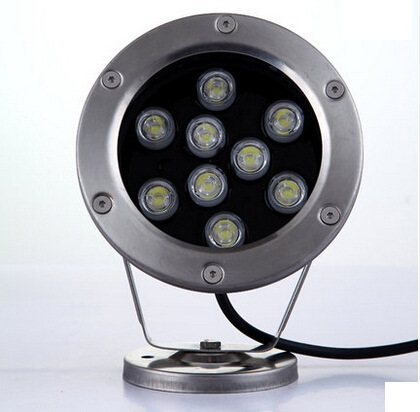 Led Underwater Lights Led Lamps Frank 9w Led Underwater Lights Single Color Waterproof Light Fish Tank Pond Pool Water Surface Shell Accessories Ip68 Dc 12 To 24 V Durable In Use
