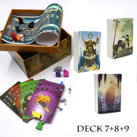 2019 dixit 7 8 9 cards game 252 cards high quality wooden bunny English&Russian rules for kids home party board game