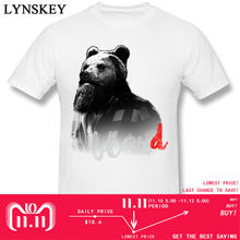 7191d5d5b3 Rússia Urso Mr T Camisas Homens Incrível Barba Bears T-Shirt 2018 Moda Masculina  Camiseta 100% Algodão Hip Hop Ocidental Humor c.