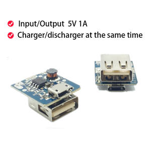 Olive Leaf 5V 1A Power Bank Circuit Board Module DIY