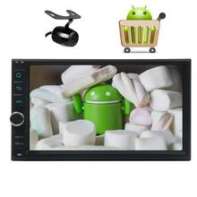 Camera included Android6.0 Car Stereo with gps Capacitive Screen two 2Din GPS Navigation Vehicle Radio no-dvd Support 1080P OBD2