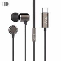 Doosl HiFi Muzyka Słuchawki douszne z Typu C Interfejsu dla Wszystkich urządzenia Wbudowane w Typu C Port Wyjściowy dla Samsung Xiaomi X8 6