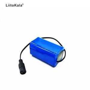 Image 2 - Li ion Akku 7,4 v 8,4 v 4400 mah Batterie Pack 18650 Batterie 4.4Ah Akku für Fahrrad/CCTV/ kamera/Elektrische H