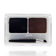 Amazing 2 Colors Eye Brow Powder Palette Shading Brush Makeup Eyebrow Cosmetic Kit TF