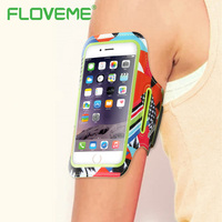 FLOVEME 4 5 8 Inch Waterproof Sports Mobile Phone Holder Arm Band Phone Sports Bag For