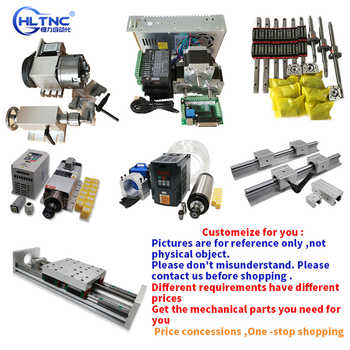 customization cnc  Module 1605 Ball screw HGR20 Linear guide  Gear rack spindle  converter for engraving machine accessories - DISCOUNT ITEM  0% OFF All Category
