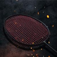 1 Pc FREE Shipping 30LBS Full Black VT80 Attack Badminton Rackets Candy Muti Color Badminton Racquets