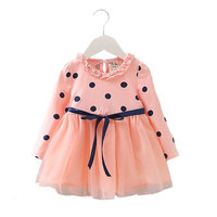 Newborn Baby Girl Summer Clothing Brand Long Sleeve Dress For Toddler Infant Baby Girl Clothes Party