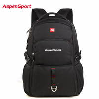 2017 Aspensport Fashion School Backpack Men S 15 6 Inch Laptop Backpacks High Quality College Bag