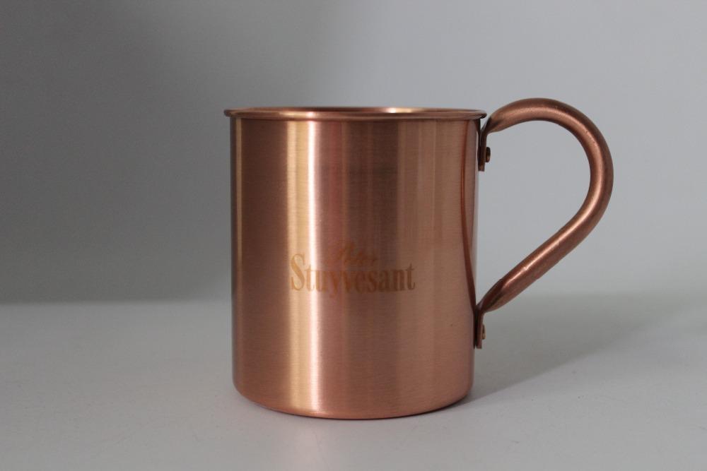 moscow mule taza de cobre puro mosc mula de cobre de cobre slido tazas
