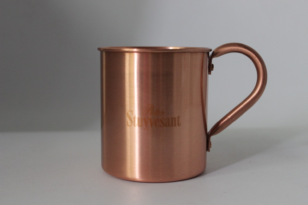 pure copper moscow mule mug solid copper moscow mule copper mugs cups copper moscow - Copper Mule Mugs