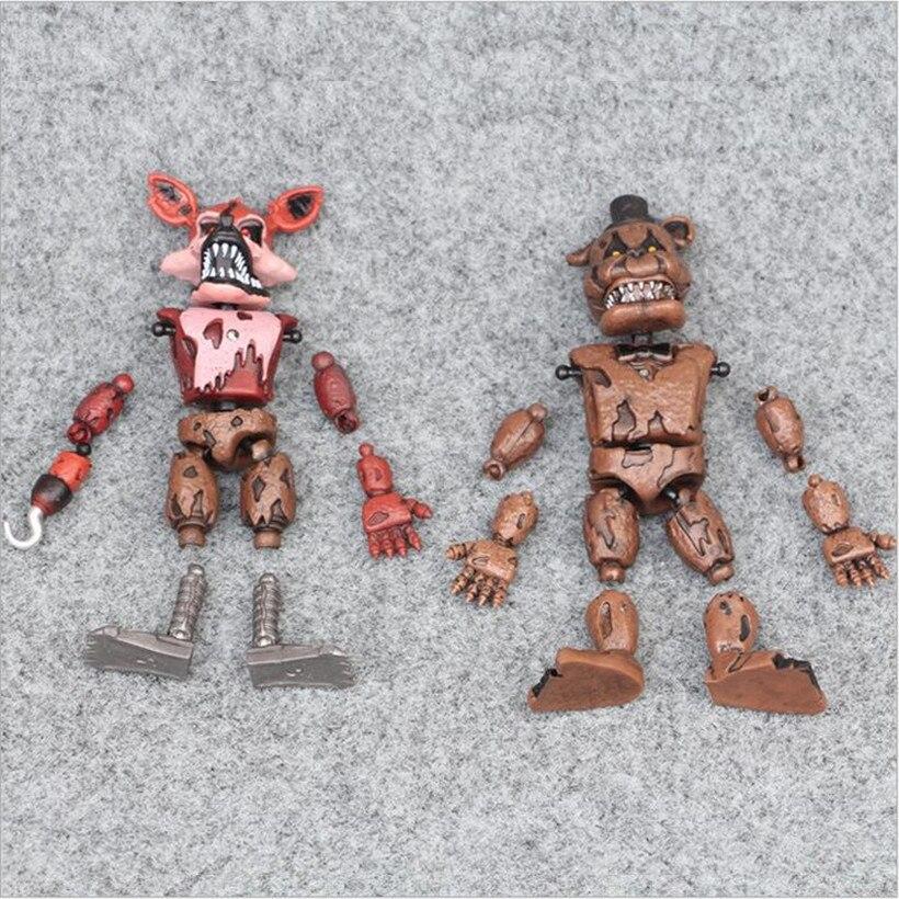 New-pattern-1pcs-Five-Nights-At-Freddy-s-Action-Figure-FNAF-Bonnie-Foxy-Freddy-Fazbear-Bear (4)