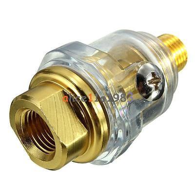 """Cordiale 1/4 """"bsp Mini In-line Oliatore Tubi Lubrificatore Per Pneumatic Tool & Compressore D'aria"""