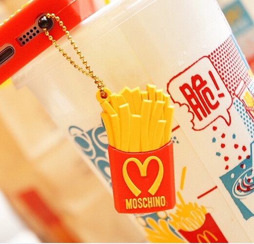 Mcdonald Wholesale Home: Wholesale 20pcs/lot Silicone Mcdonald's Fries Anti Dust