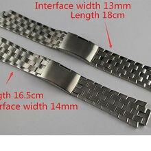13 мм L960.110 T60 14 мм L975.110 новые части часов Мужской Цельный браслет из нержавеющей стали ремешок для часов T60 L860/960 K