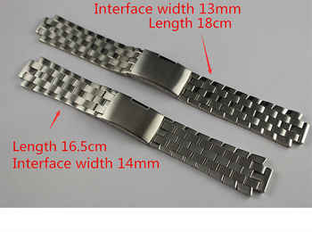13mm L960.110 T60 14mm L975.110 New Watch Parts Male Solid Stainless steel bracelet strap Watch Bands For T60 L860/960K - DISCOUNT ITEM  5% OFF All Category