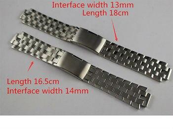 13mm l960.110 t60 14mm l975.110 ذكر أجزاء جديدة ووتش مراقبة حزام سوار الفولاذ المقاوم للصدأ الصلبة لنطاقات t60 l860/ 960k
