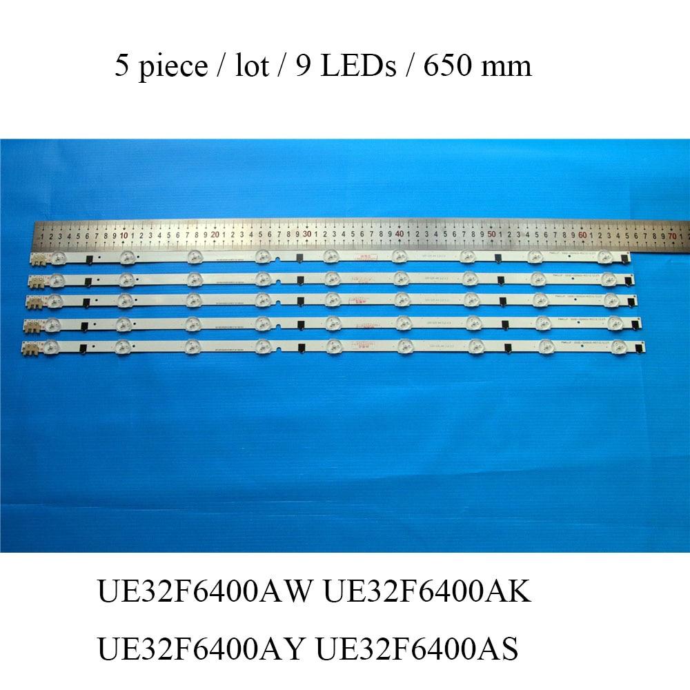 LED Backlight Strip For Samsung UE32F6400 UE32F6400AK UE32F6400AY UE32F6400AW UE32F6400AS TV Bar Replacement