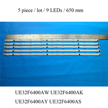 LED Backlight Strip For Samsung UE32F6400 UE32F6400AK UE32F6400AY UE32F6400AW UE32F6400AS TV Bar Replacement