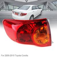 Waterproof Durable Auto Car Rear Brake Lamp Outer Left Passenger side Tail Left Light Bulb for 2008 2009 2010 Toyota Corolla