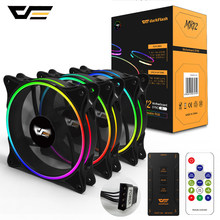 darkFlash RGB PC Case Fan 120mm Computer Cases CPU Cooling Fans Quiet Asus Aura Sync Cooler Cooling Adjust speed LED PC Fan MR12(China)