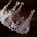 Новая Мода Ювелирные Изделия Очарование Европейского Лояльный Корона Ювелирные Изделия Оптом Кристалл Диадемы и Короны Для Женщин Bijoux Аксессуары Для Волос