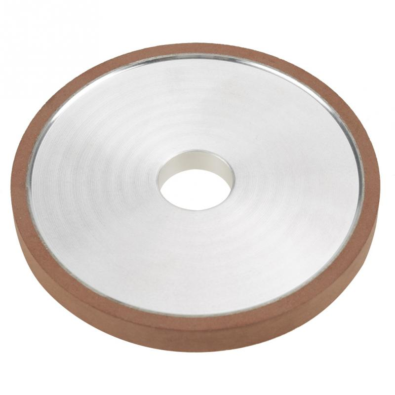 New 1Pcs Diamond Resin Grinding Wheel Disc For Cutter Grinder Polishing Grit 150 100*20*10mm