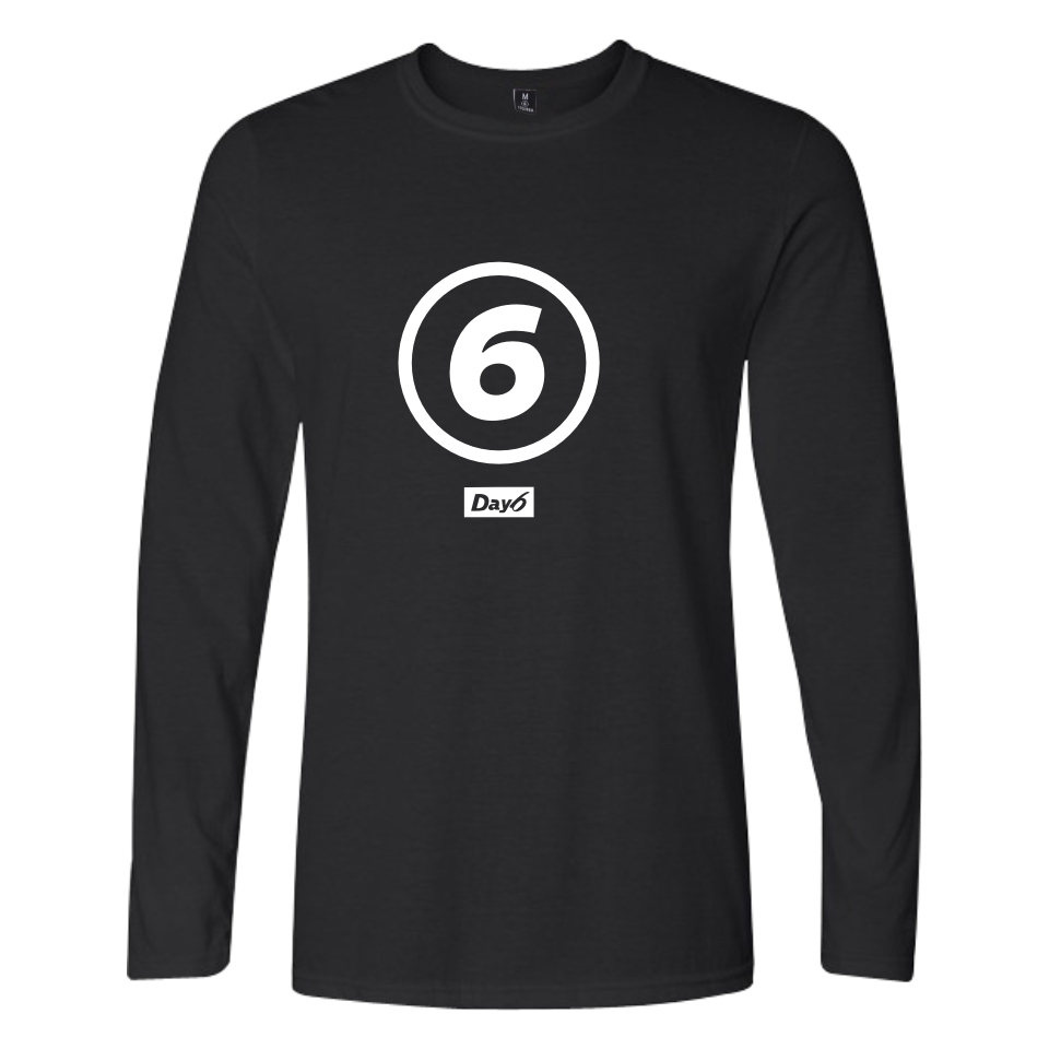 Day 6 T-shirts Spring White/black Cool And Fashion Long Sleeve Slim Fit Casual T-shirt Hip Hop Tops & Tees XXS To 4XL Clothes