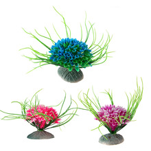 Aquarium Artificial Plants Underwater Grass Ornaments for Aquatic Fish Tank Decor Landscape Water Grass Decoration цена