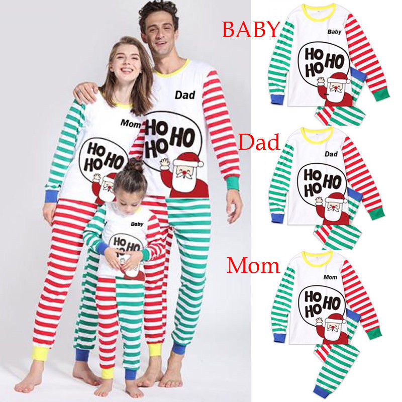 Detail Feedback Questions about Christmas Family Matching Outfits Pajamas  Sets Kid Mom Father Xmas Deer Sleepwear Nightwear Brother Sister Baby  Clothing on ... 255bab86d