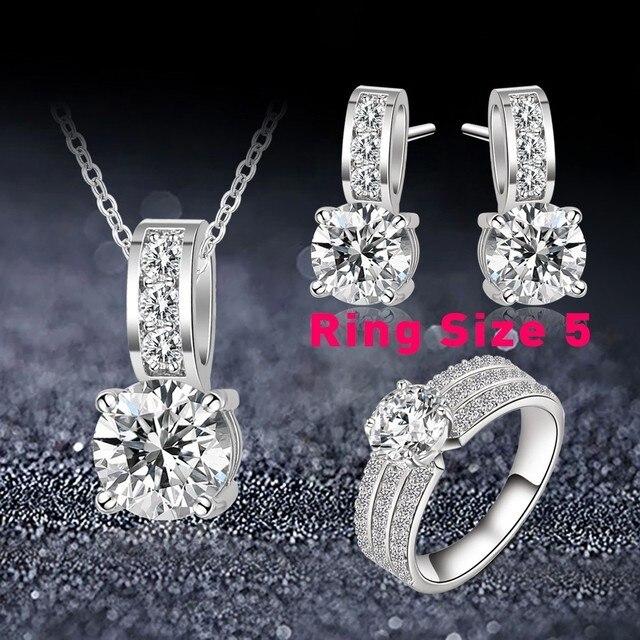ANFASNI Wedding Jewelry Set...