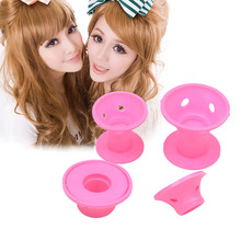 10pcs Silicone No Clip Hair Curlers Rollers Hair Styling Tools beauty tools no damage to hair washable and reusable