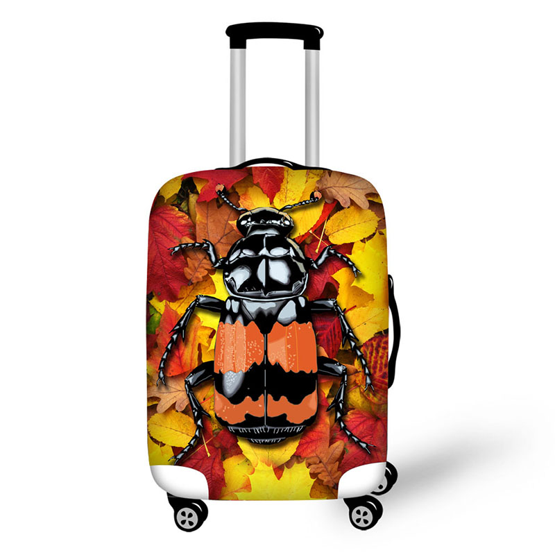 Insect Ladybird Travel Accessories Suitcase Protective Covers 18-30 Inch Elastic Luggage Dust Cover Case Stretchable Bag