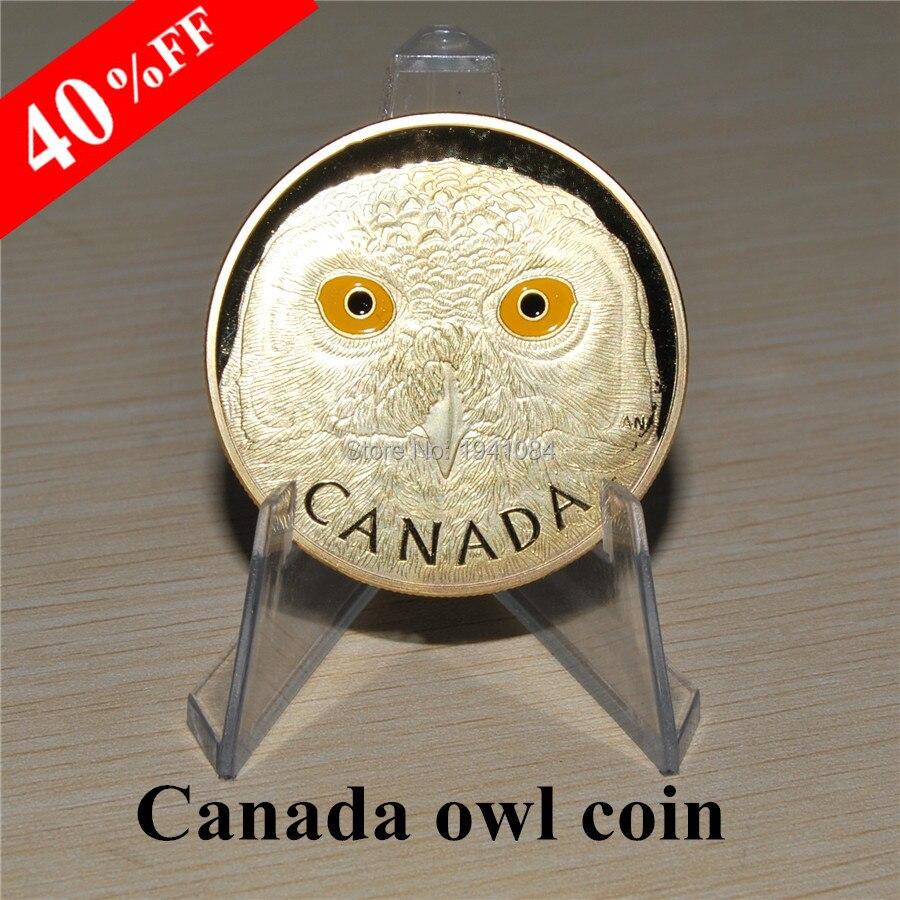 2014 250 Dollar Kanada Münze Snowy Eule Canadian Wildlife Gold