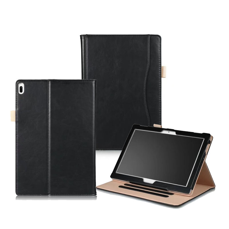 Handstrap Folio Stand PU Case For Lenovo Tab 4 10 X304 Tab 4 10 Plus X704